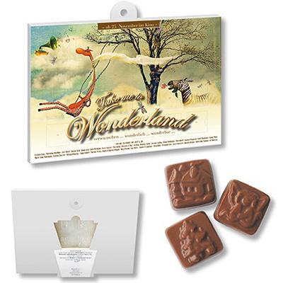 chokladkalender detaljer