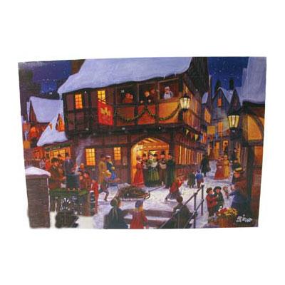 chokladkalender julmotiv