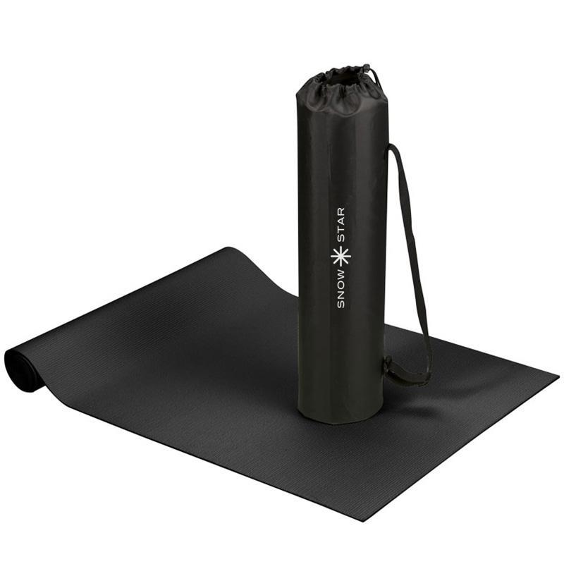 cobra yoga fitnessmatta svart2