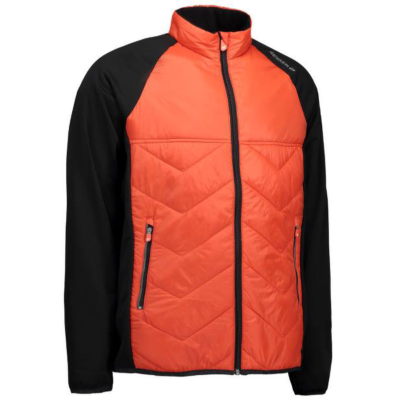 cool down jacket orange