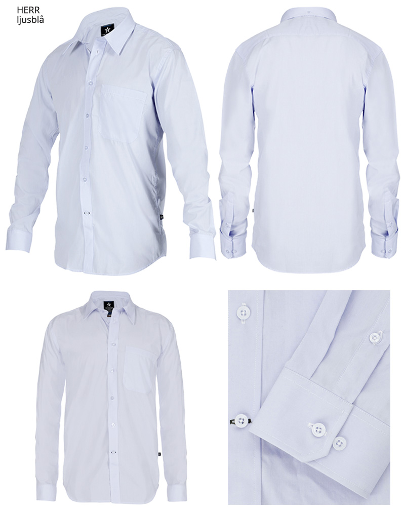 dress shirt SH19 ljusbla