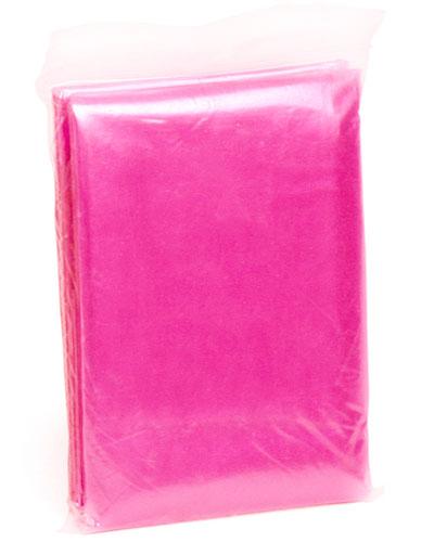 engangsponcho rosa 82872
