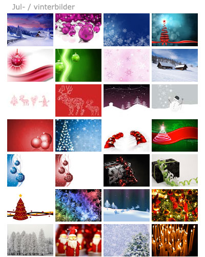 exxelentcard framsidebilder jul