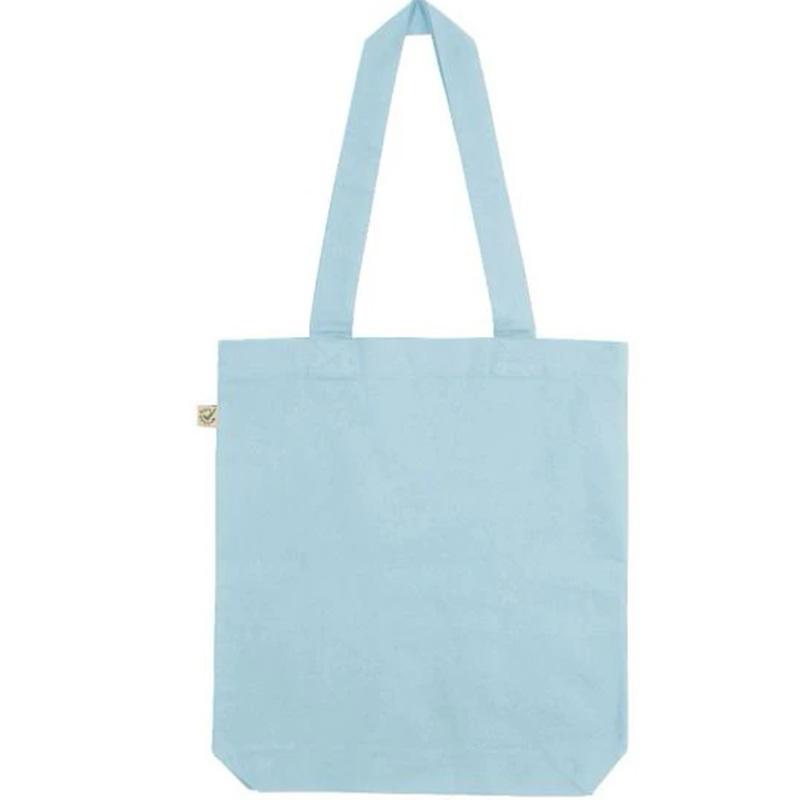 fair wear bomullskasse aquamarine