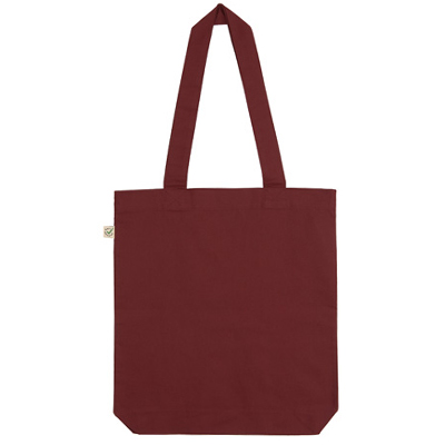fair wear bomullskasse burgundy