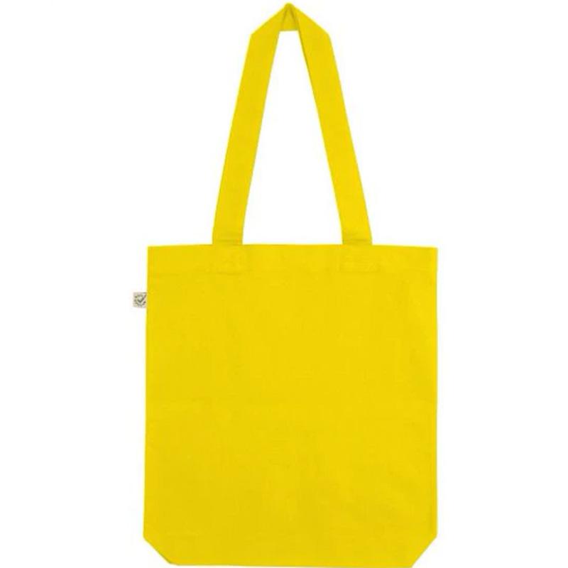 fair wear bomullskasse buttecup yellow