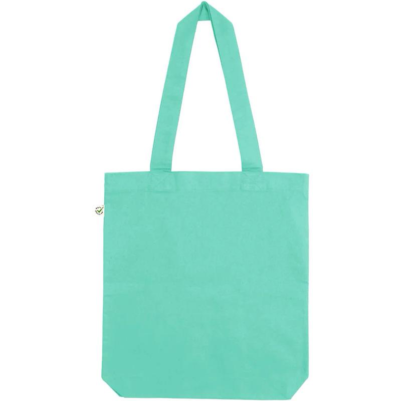fair wear bomullskasse mintgreen