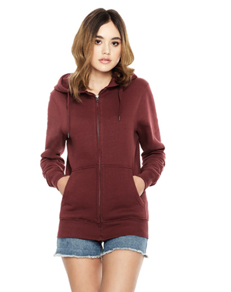 fair wear zip hood EP51Z miljo 2
