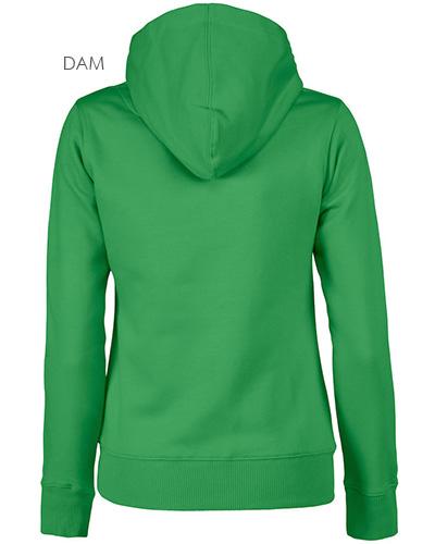 fastpitchrsx hoodie gron bak dam