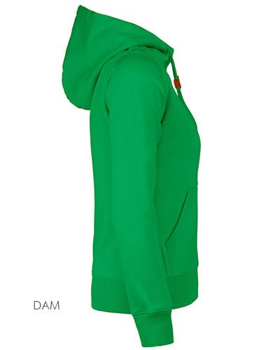 fastpitchrsx hoodie gron sida dam