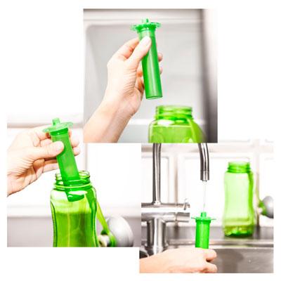 flaska med iskolv extra