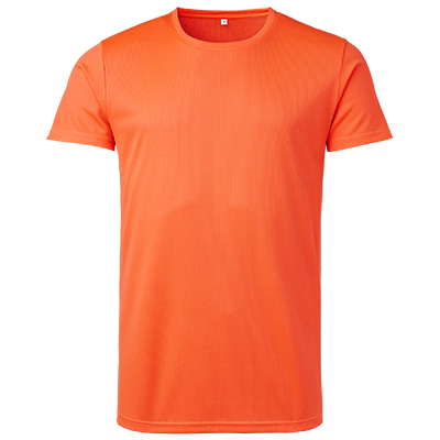 funktions t shirt herr orange fluo