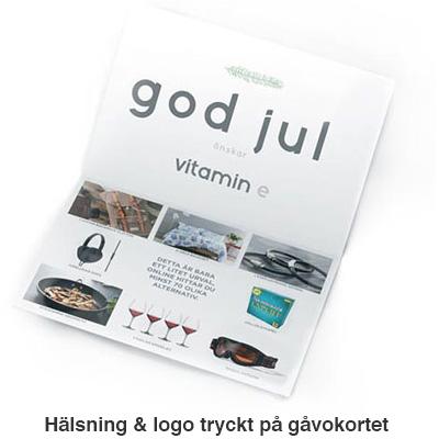 halsning logo tryckt
