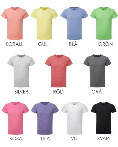 hd t shirt herr alla farger