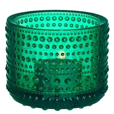 iittala kastehelmi votive smaragd