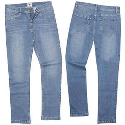 jeans SD001 light blue wash