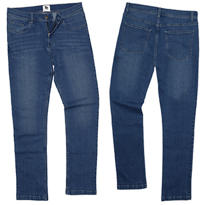 jeans SD001 mid blue wash
