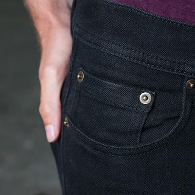 jeans SD001 svart detalj