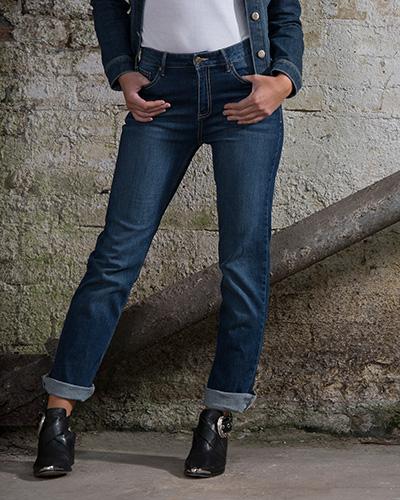 jeans SD011 dark blue wash miljo