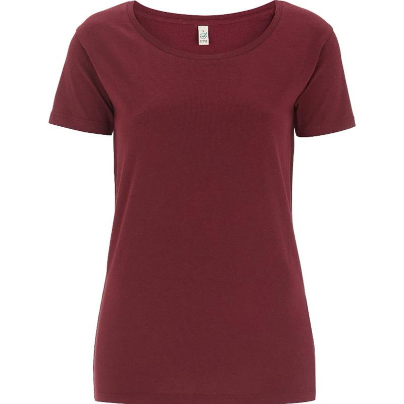 klassisl t shirt ep09 burgundy