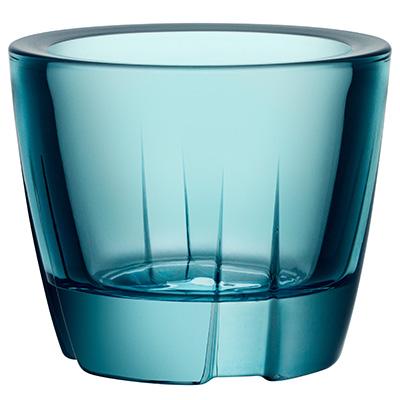 kosta boda bruk ljuslykta turquoise
