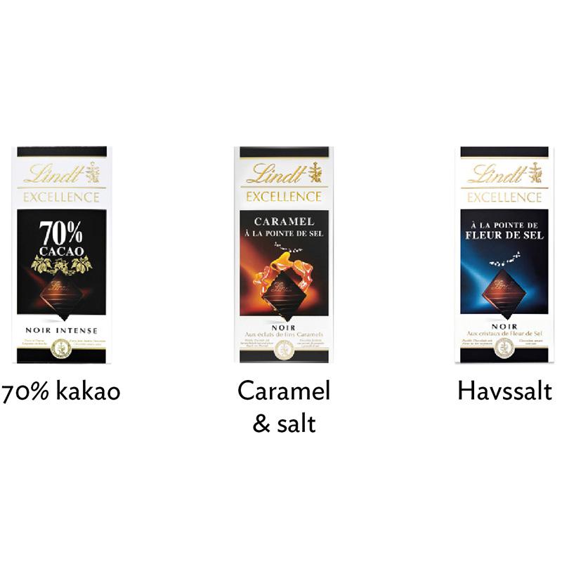 lindt excellence chokladkakor 2
