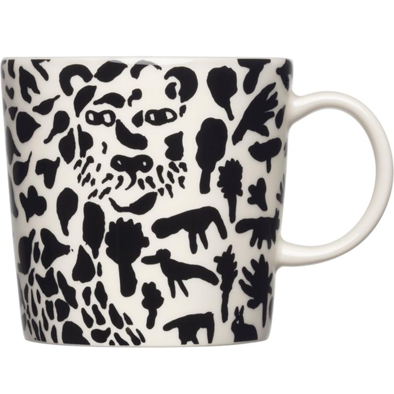 mugg oiva toikka collection cheetah black