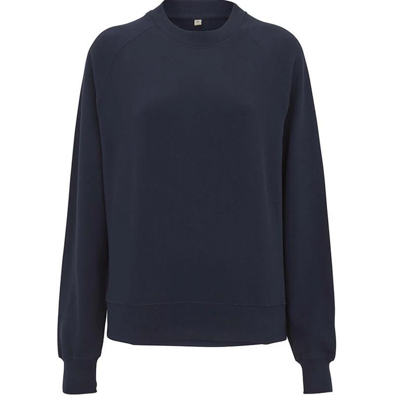 organic cotton sweatshirt dam navy