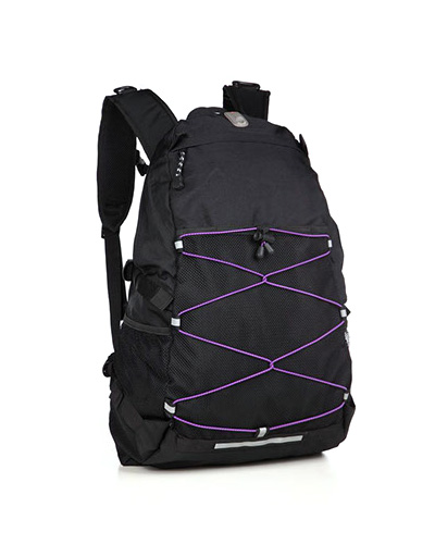 original adventure pack svart lila