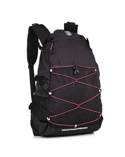 original adventure pack svart rosa