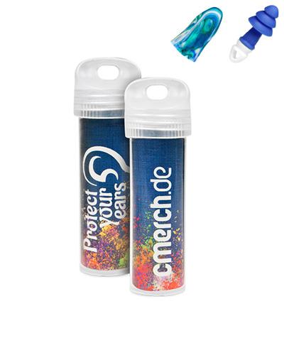 oronproppar m tryck plasthylsa