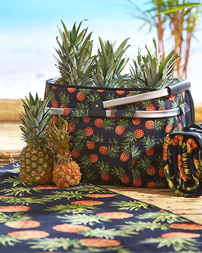 picknickplad ananas miljo