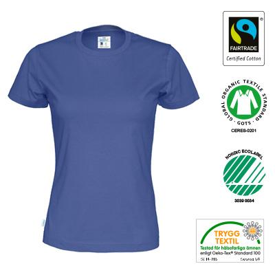 t shirt eko lady markningar