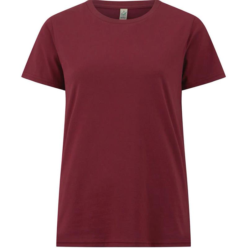 t shirt fair wear dam burgundy