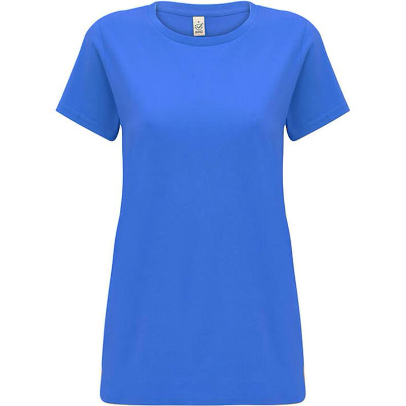t shirt fair wear dam ljusbla