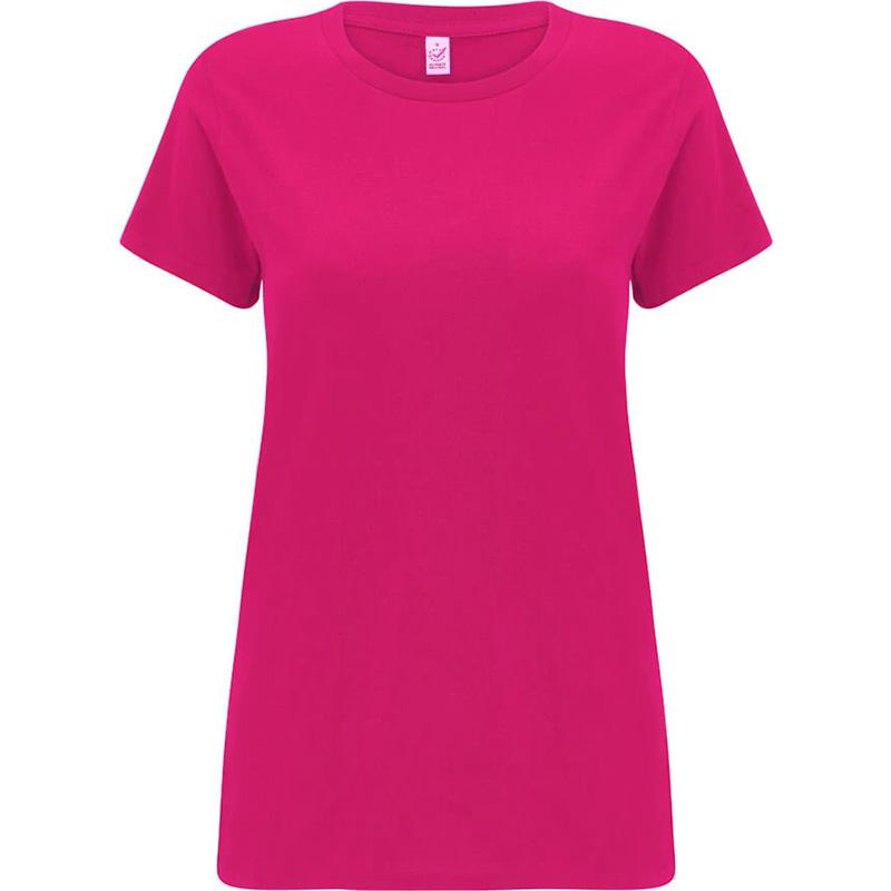 t shirt fair wear dam ljusrosa