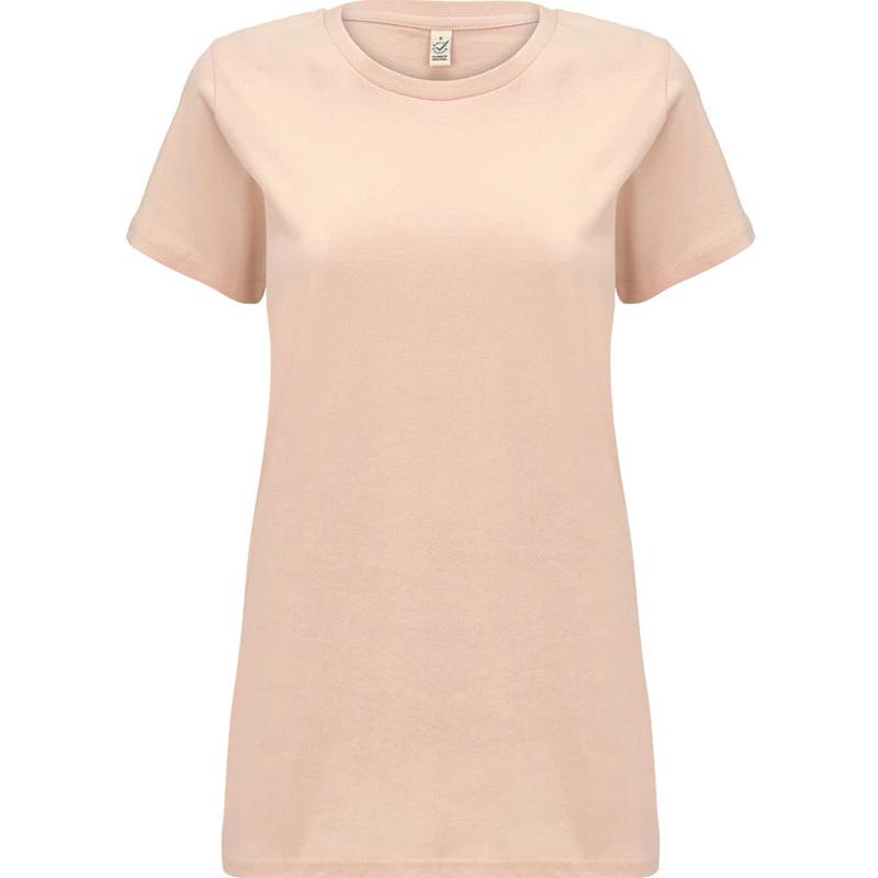t shirt fair wear dam misty pink