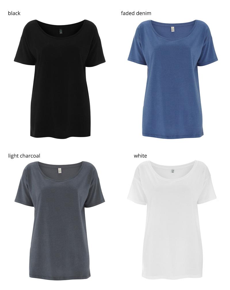 t shirt tencel EP46 farger