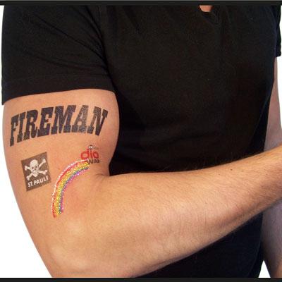 tattoo fireman
