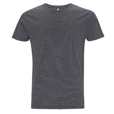 unisex jersey t shirt pinstripes vit navy