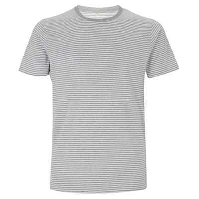 unisex jersey t shirt stripes vit gramelange