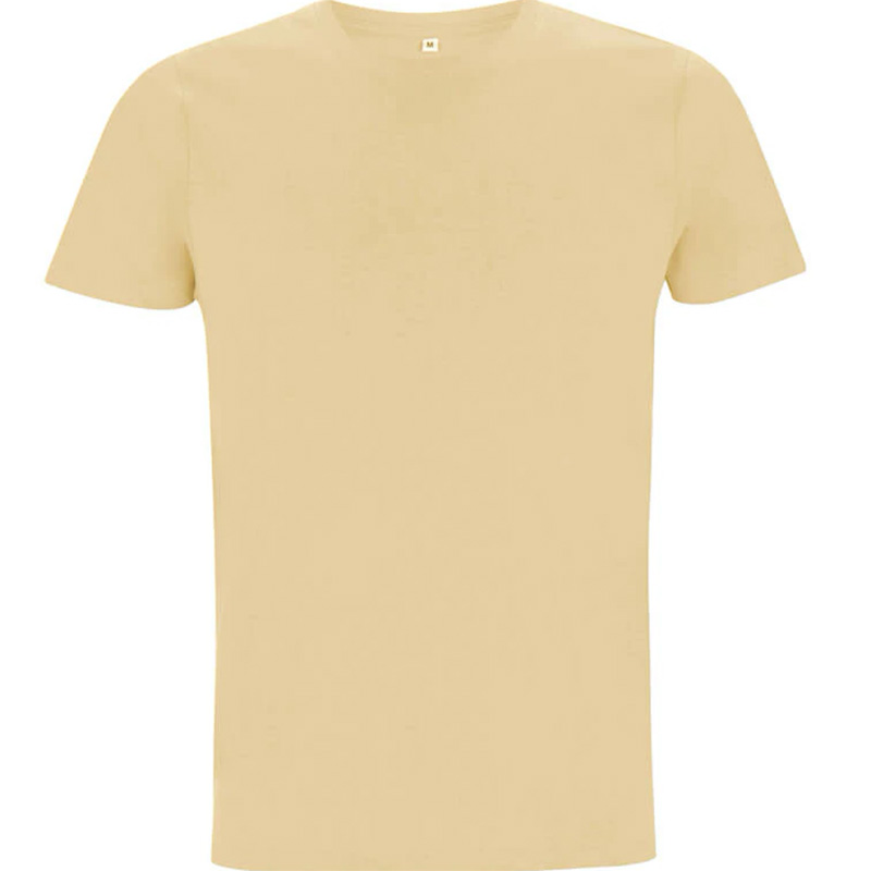unisex organic cotton t shirt 3 camel