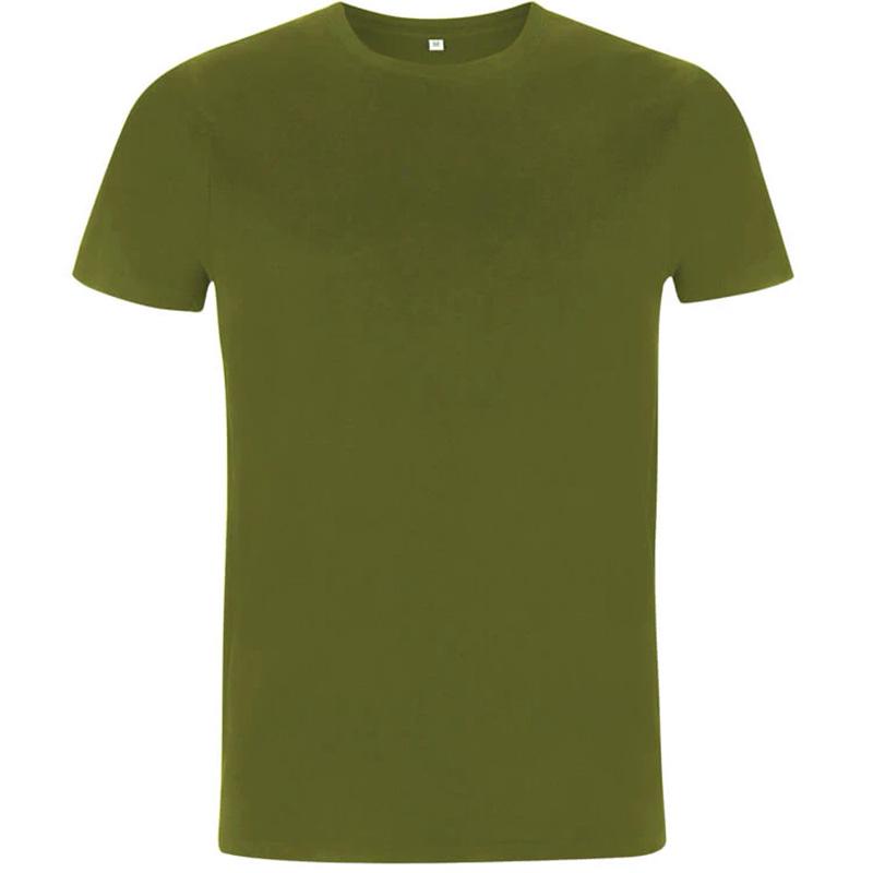 unisex organic cotton t shirt 3 khaki