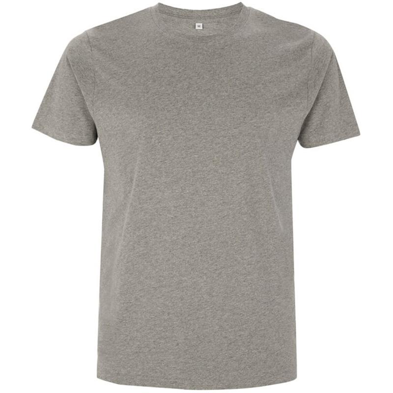 unisex organic cotton t shirt 3 melange grey