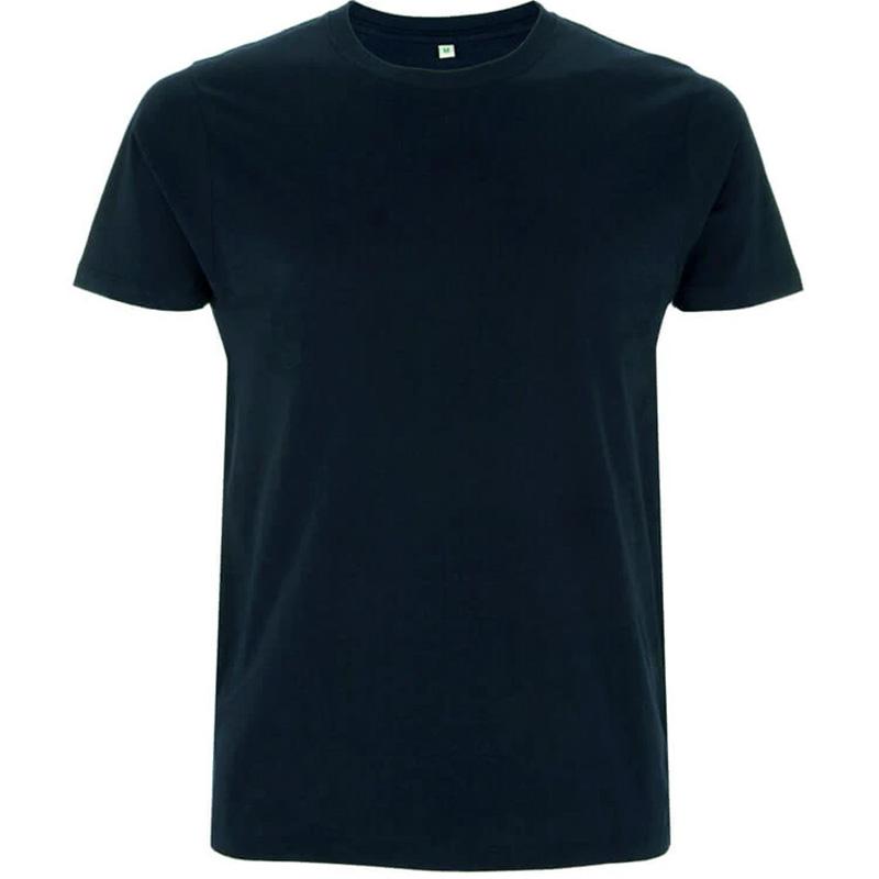 unisex organic cotton t shirt 3 navy