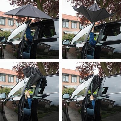 vandbart paraply miljo