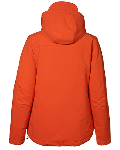 vinter softshell bak dam 0899 orange