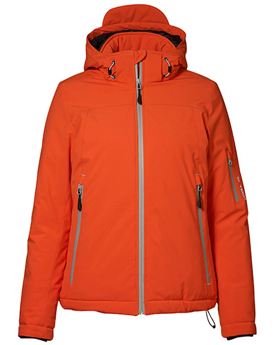 vinter softshell fram dam 0899 orange