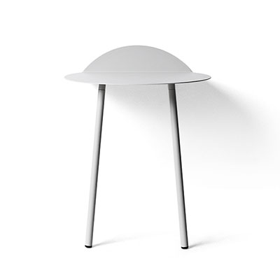 yeh wall table low light grey