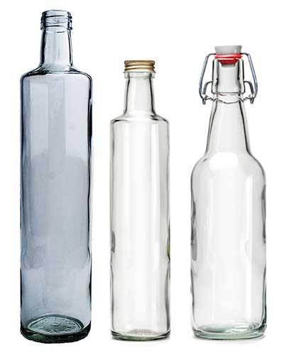 Flaska 75 CL med skruvkork mix